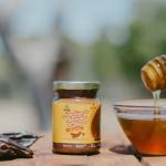Manteiga de Amêndoa do Algarve ALFARROBA E MEL (95g)