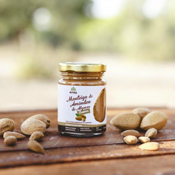 Manteiga de Amêndoa do Algarve CREMOSA (95g)