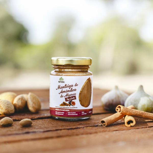 Manteiga de Amêndoa do Algarve FIGO E CANELA (95g)
